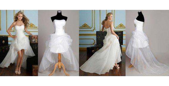 Шикарное предложение для ультрамодных невест! Свадебное платье со скидкой 55% в стиле кабаре! 4700 вместо 10400! Доставка по России бесплатно