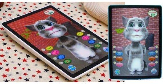 Интерактивный кот для планшета