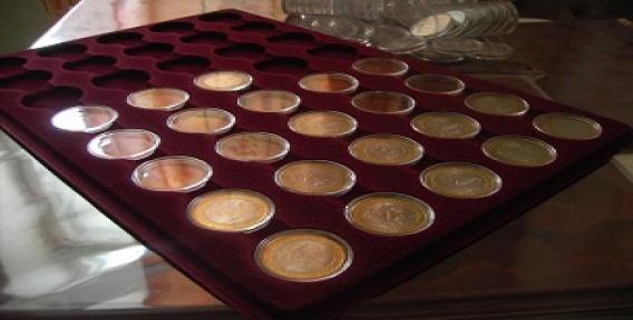 Планшет для капсул монет разменная монета турции 5 букв